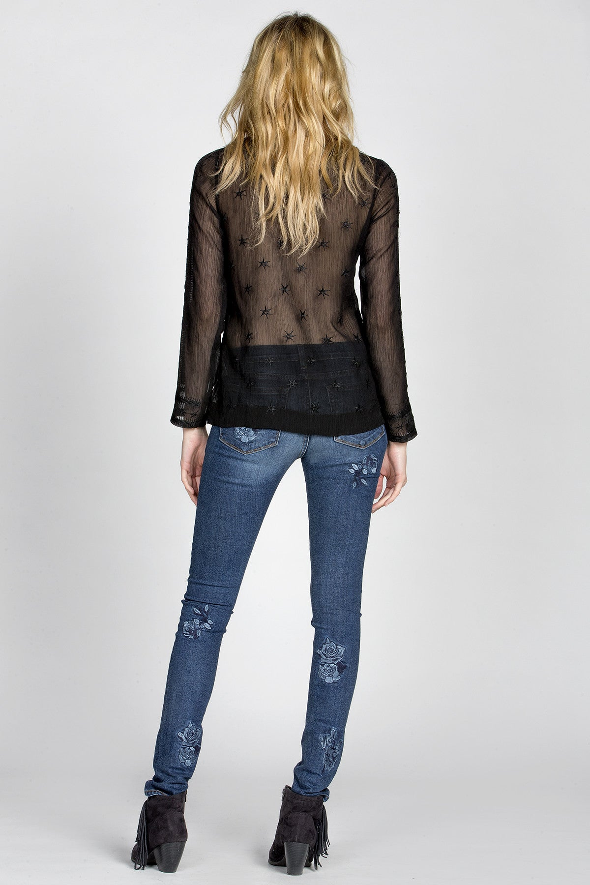 Sheer Brilliance Henley Top