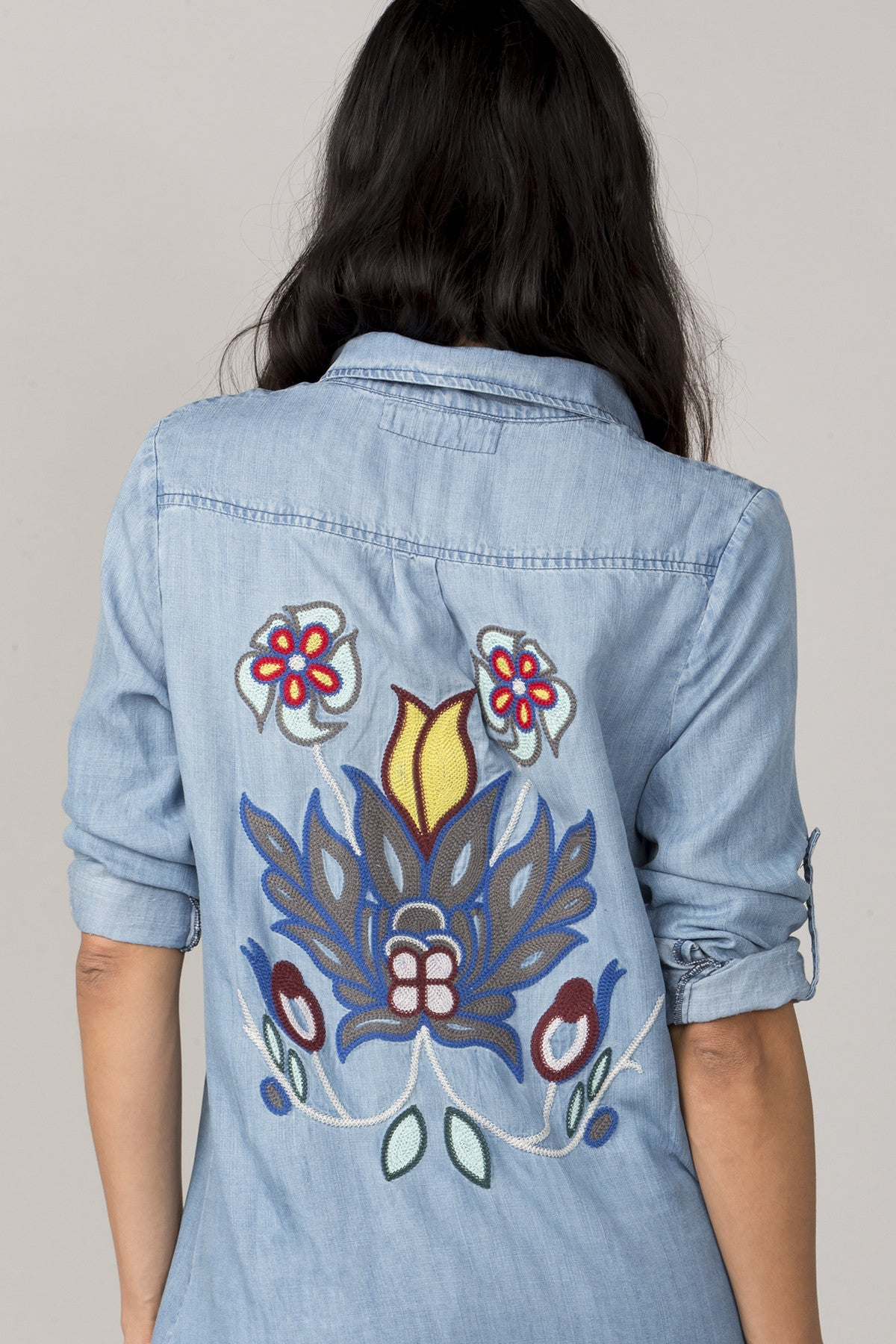 Scenic Route Denim Top