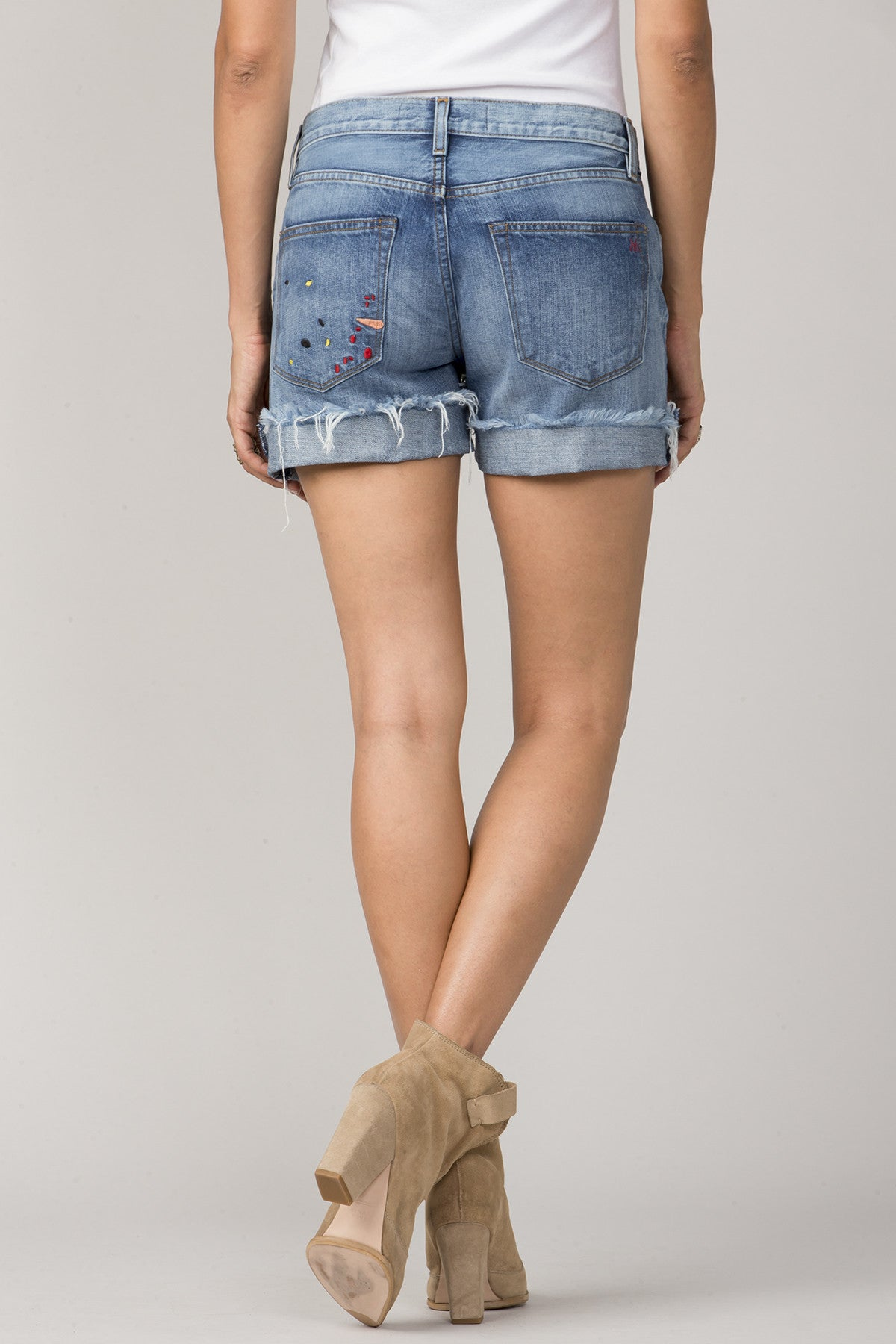 Riley Boyfriend Short