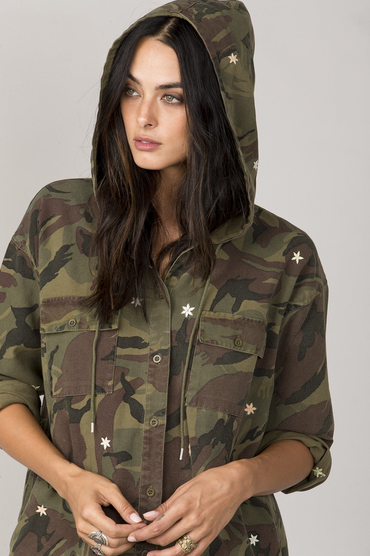 Off Duty Camo Jacket