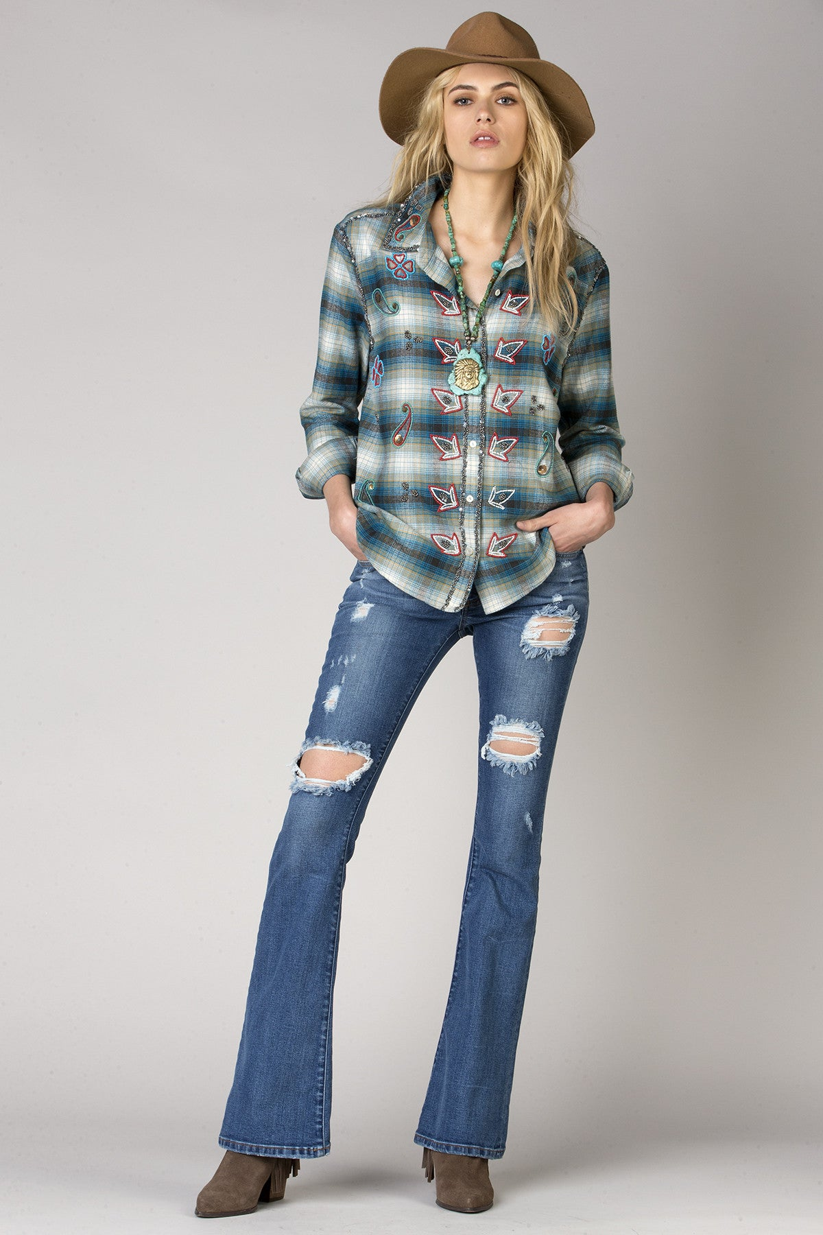 Dream Lover Plaid Shirt