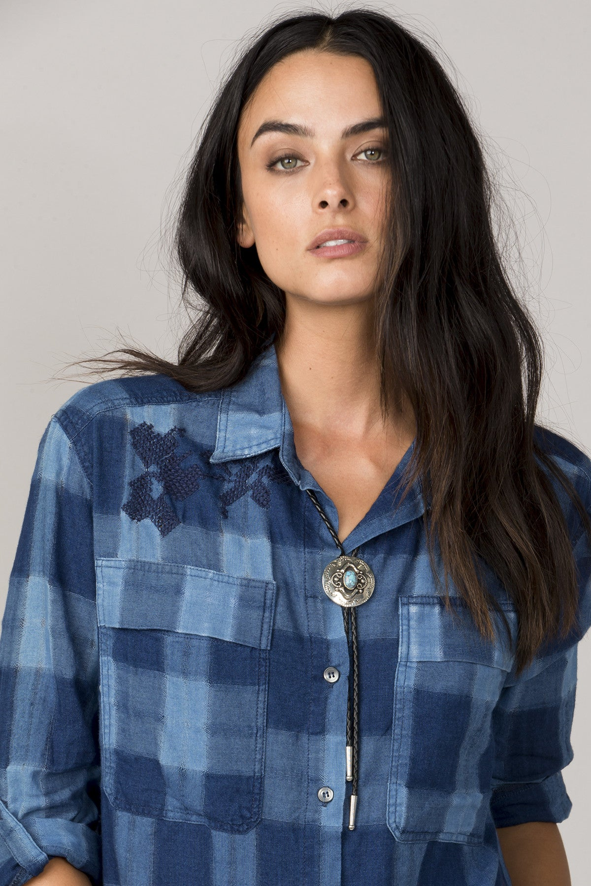 One Love Button-Up Shirt