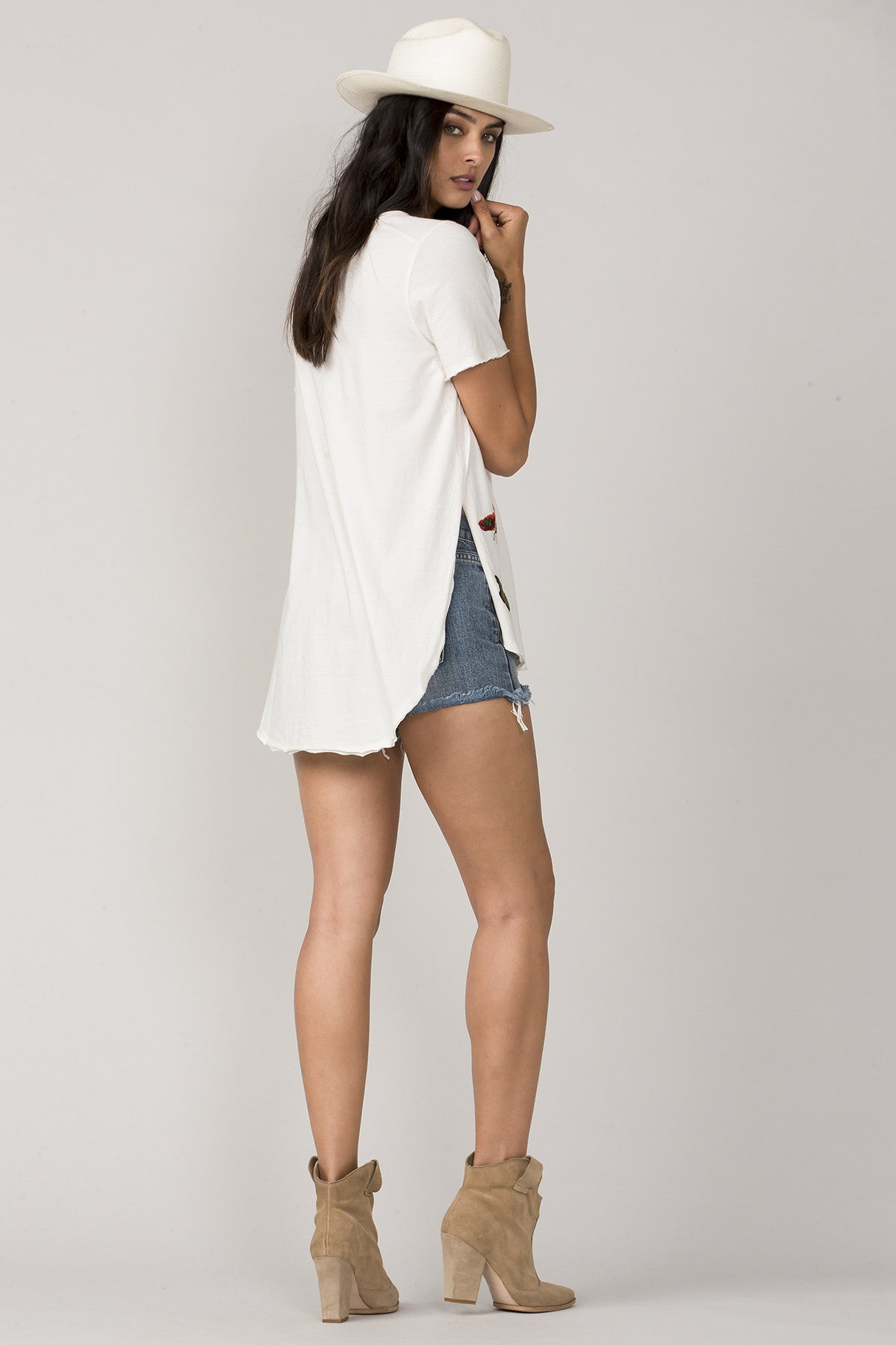 White Free Spirit Top