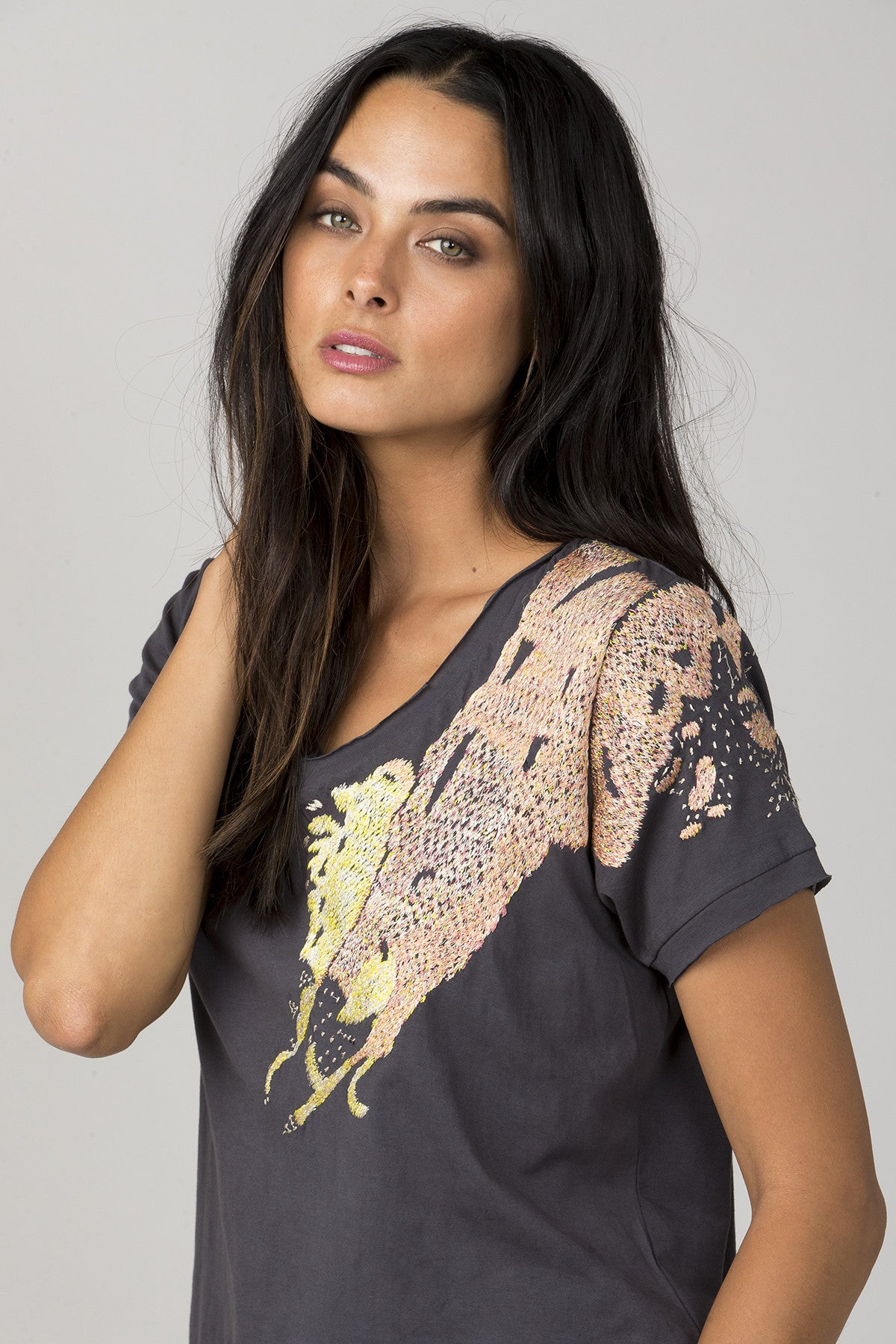 Stardust Embroidered Top