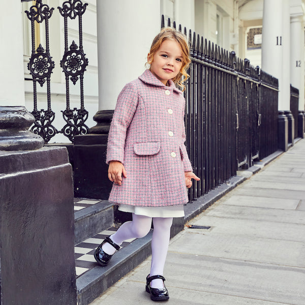 Britannical luxury childrens coat made in britain