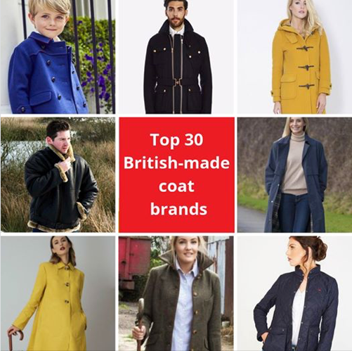 Britannical children's coats luxury made in britain
