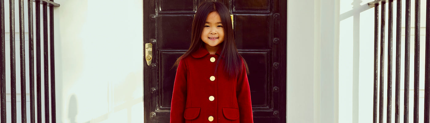 Traditional children's coats by Britannical traditional girls coats traditional boys coats luxury children's coats traditional childnre's coats luxury kids coats traditional kids coats luxury children's clothing made in Britain