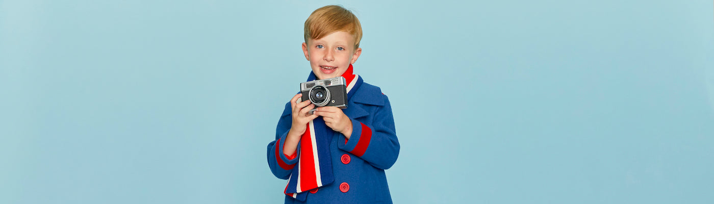 Boys reefer coats by Britannical luxury children's coats luxury kids coats luxury children's clothing made in Britain