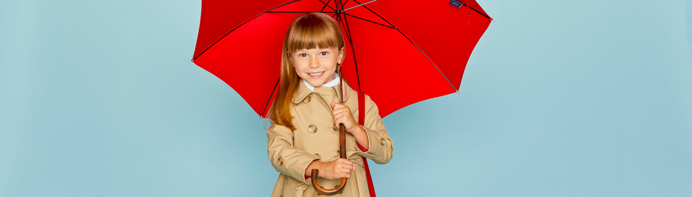 Girls trench coats by Britannical luxury children's coats luxury kids coats luxury children's clothing made in Britain