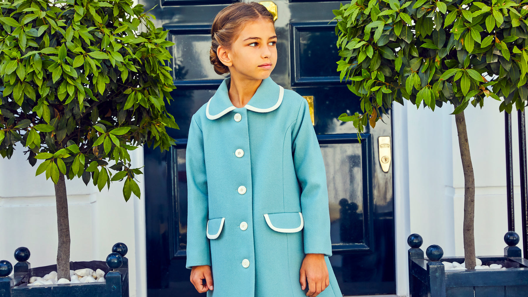 Britannical luxury children's coats luxury kids coats luxury children's clothing made in Britain
