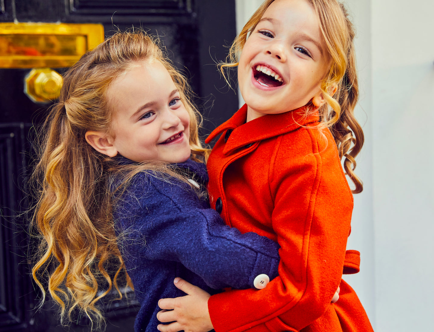 Luxury girls coats by Britannical luxury children's coats luxury kids coats luxury children's clothing made in Britain