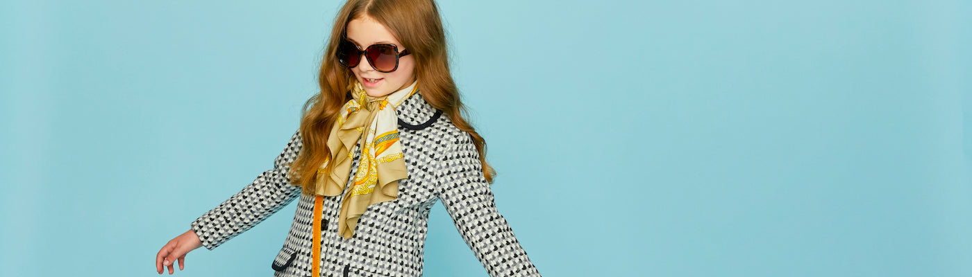 Girls gallery coats by Britannical luxury children's coats luxury kids coats luxury children's clothing made in Britain