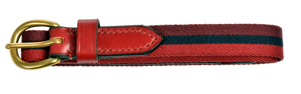 Britannical Luxury Children's clothing made in Britain leather belt