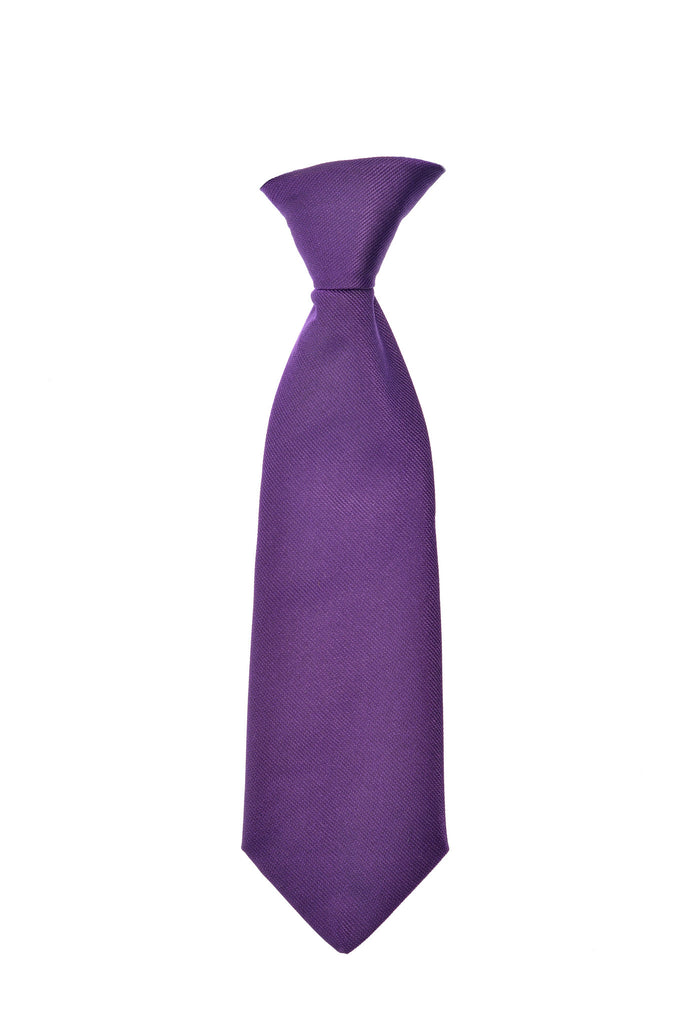 THE GREAT BRITISH BABY COMPANY CHILD'S TIE SILK PURPLE. ECPAT UK FUNDRAISING. LUXURY BRITISH CHILDREN'S CLOTHING & ACCESSORIES
