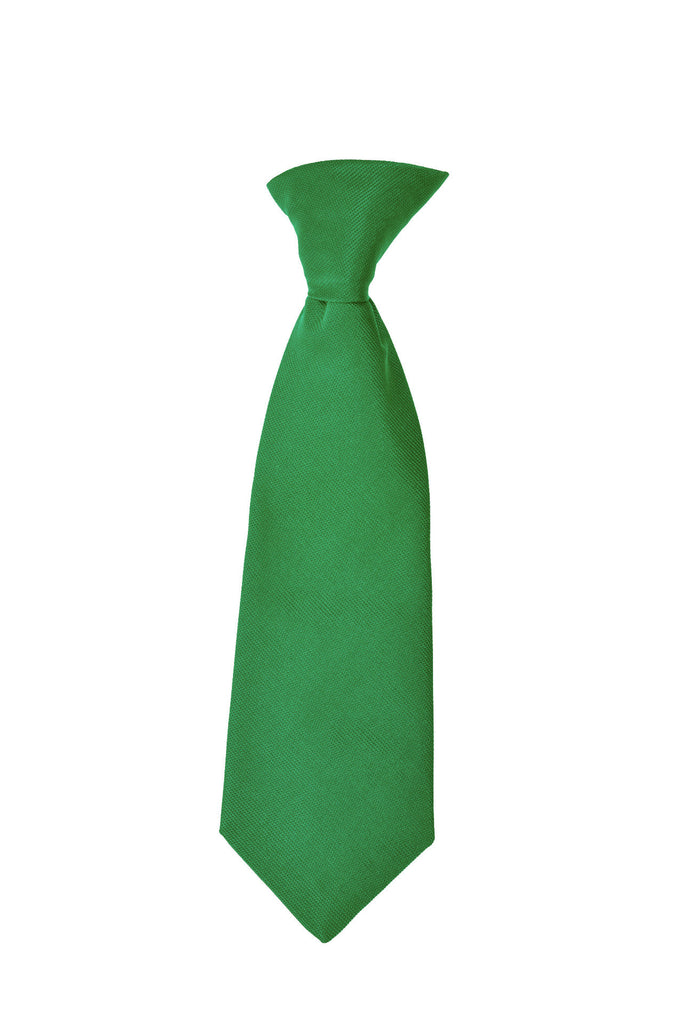 Child's neck tie silk green by Britannical luxury children's clothing made in Britain