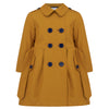 Britannical luxury children's clothing girls trenchcoat mustard yellow made in britain
