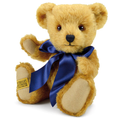 Britannnical London Merrythought Teddy Bear Oxford Luxury Teddy Bear Luxury Children's toys kids toys luxury gifts for children children's gifts made in britain
