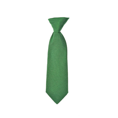 Children's neck tie green silk by Britannical luxury children's coats luxury kids coats luxury children's accessories made in britain