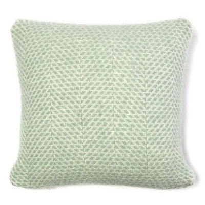 Britannical children's cushion green blue wool luxury children's gifts for children baby gifts for children made in Britain