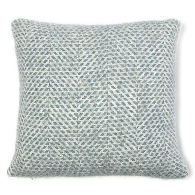 Britannical children's cushion blue wool luxury children's gifts for children baby gifts for children made in Britain