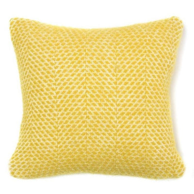 Britannical luxury children's cushion yellow wool gifts for baby gifts for babies gifts for children children's gifts made in Britain