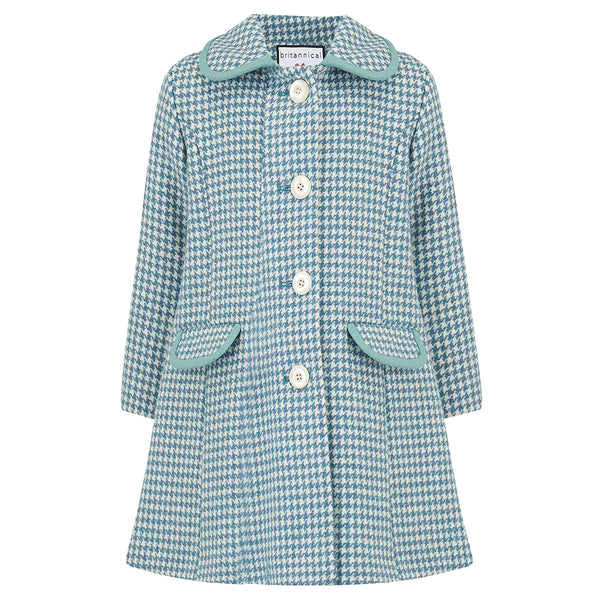 Chelsea Girls Coat - Cadogan Teal