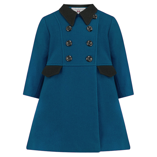 The Piccadilly Dress Coat - Palace Teal