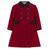 The Piccadilly Dress Coat - Theatrical Red