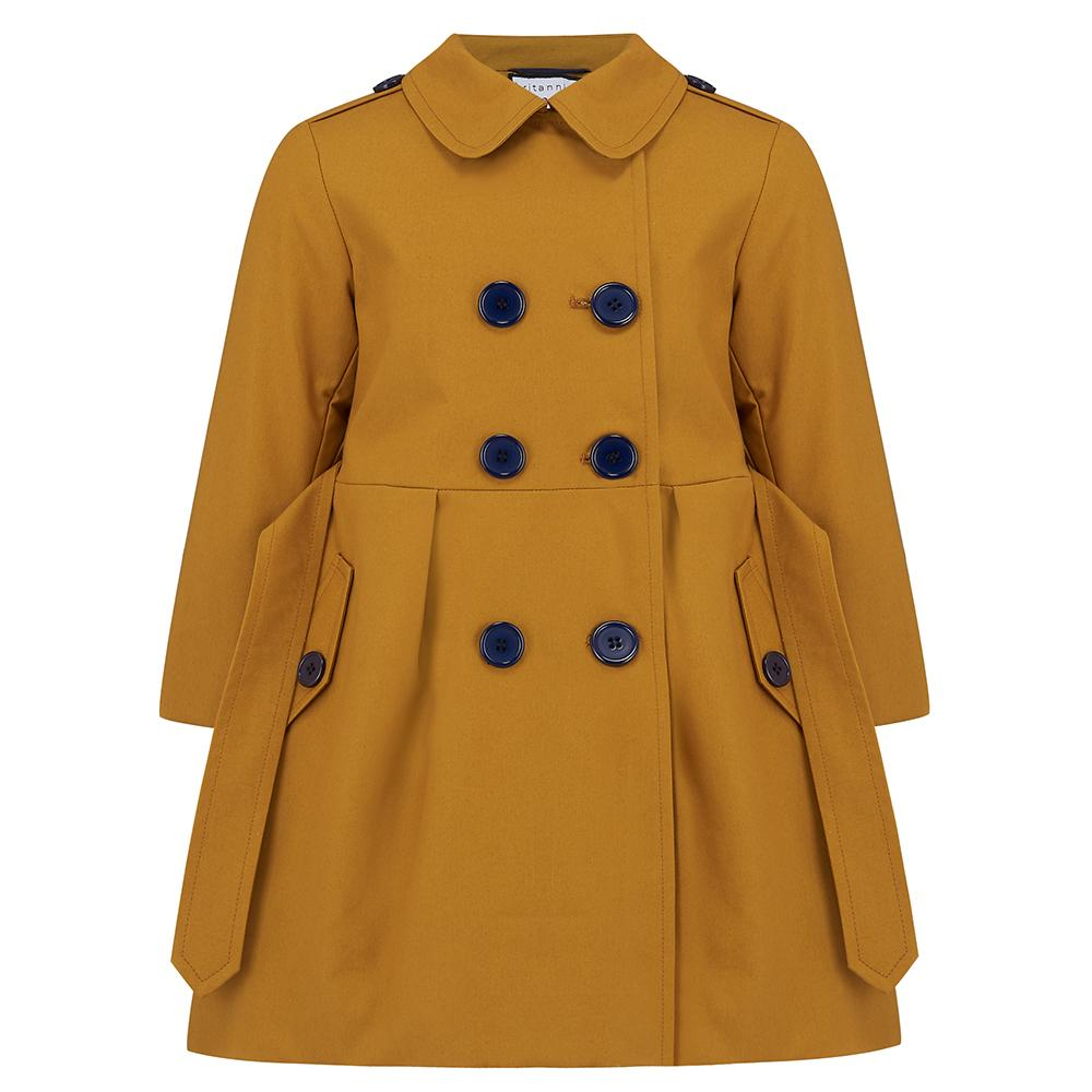 Britannical luxury babys coat girls coats  made in britain