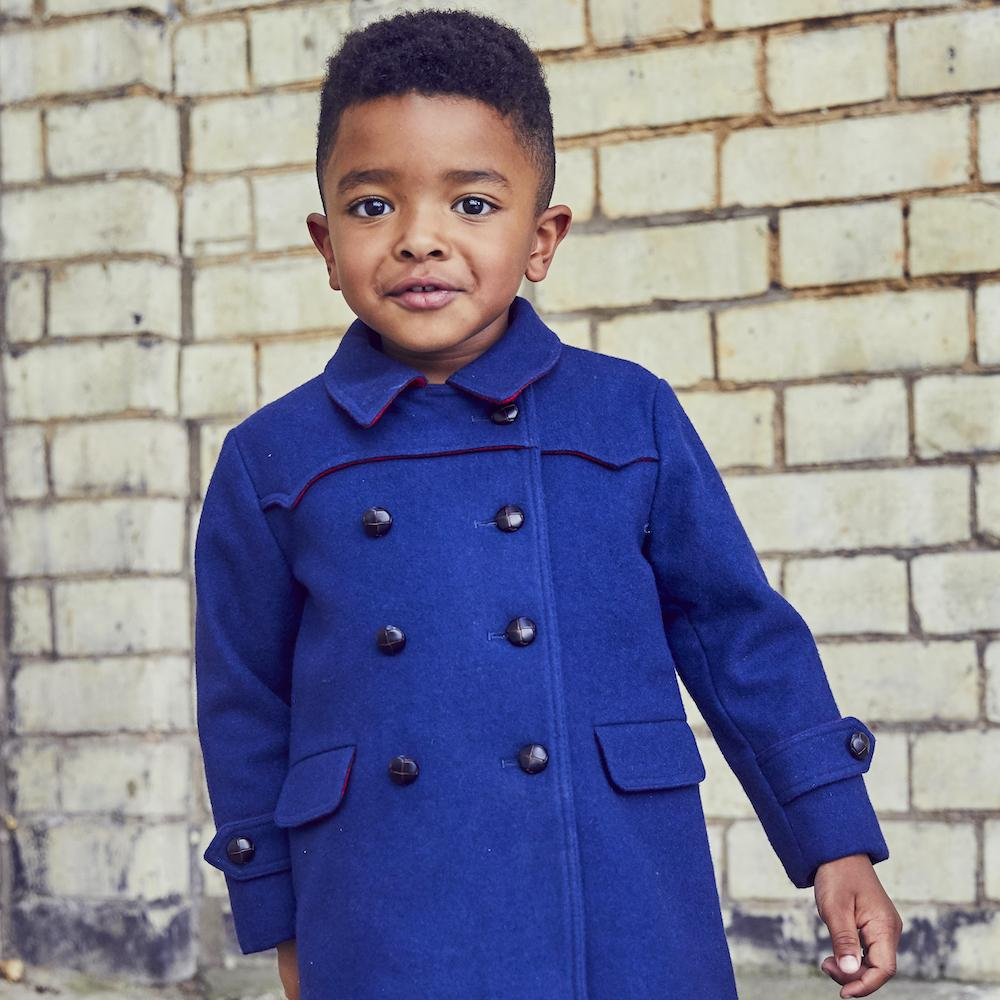 Britannical luxury childrens coats boys coats luxury kids coats luxury children's clothing made in britain