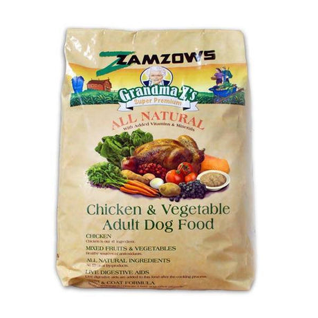 Grandma Z's Chicken And Vegetable Adult Dog Food 35 LB