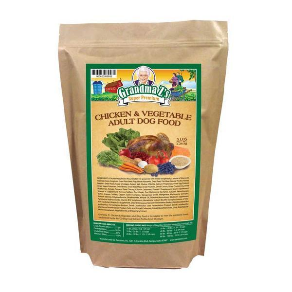 Grandma Z's Chicken And Vegetable Adult Dog Food 5 LB
