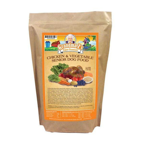 Grandma Z's Chicken And Vegetable Senior Dog Food 5 LB