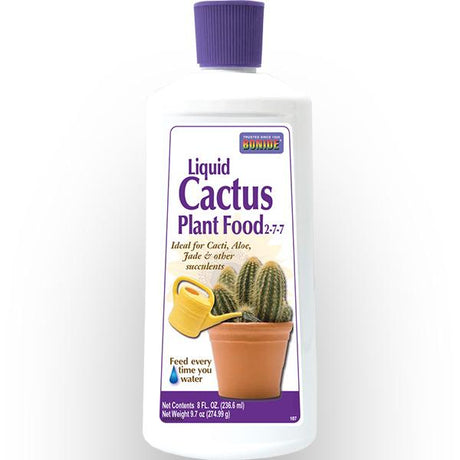 Bonide Liquid Cactus Food 2-4-7 8 OZ