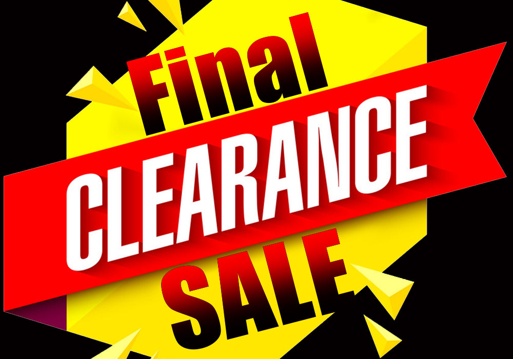 Clearance Collection - Final Sale (No Refund or Exchange)