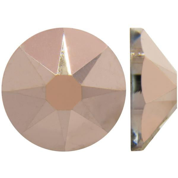 Swarovski 2058 XILION Rose Flatback Crystal Rose Gold (ROGL) - Factory Pack (1440pcs)