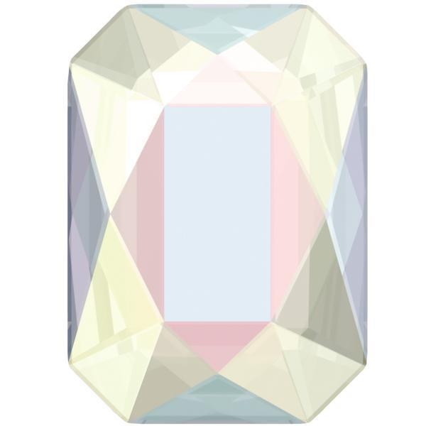 Swarovski Crystals 2602 - Emerald Cut -Crystal AB