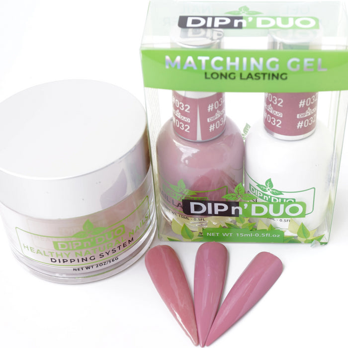 DIP n' DUO Healthy Natural Nails Dipping System ( 4-IN-1 Matching 31-60)