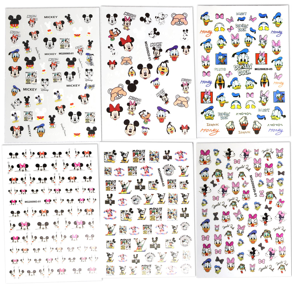 Mickey Sticker Set 2 (6pcs)