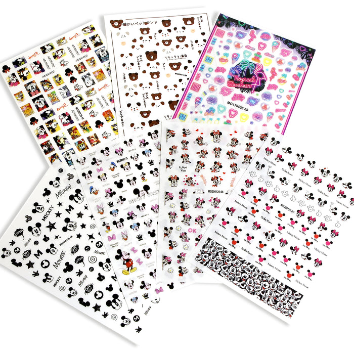 Mickey Sticker Set 1 (7 pcs)