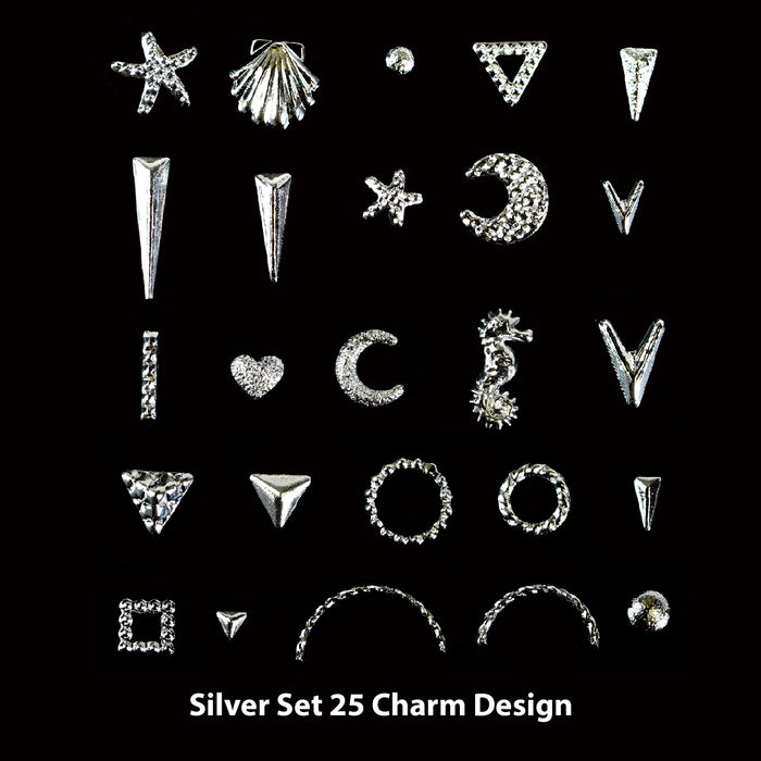 Charm Set 25  Designs- 6 Set Option