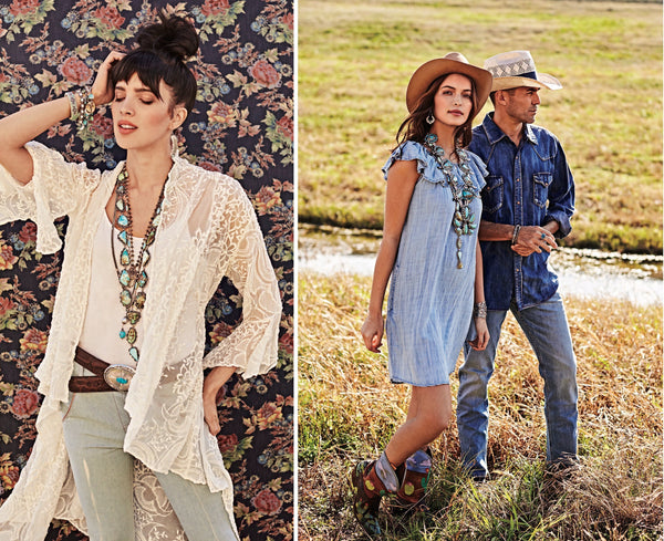 "Cowboys & Indians Magazine x Vogt: Spring 2019 Fashion Feature ""Prairie Imprints"""