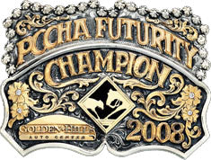 PCCHA Futurity Champion Custom Belt Buckle