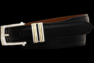hand-crafted leather belts