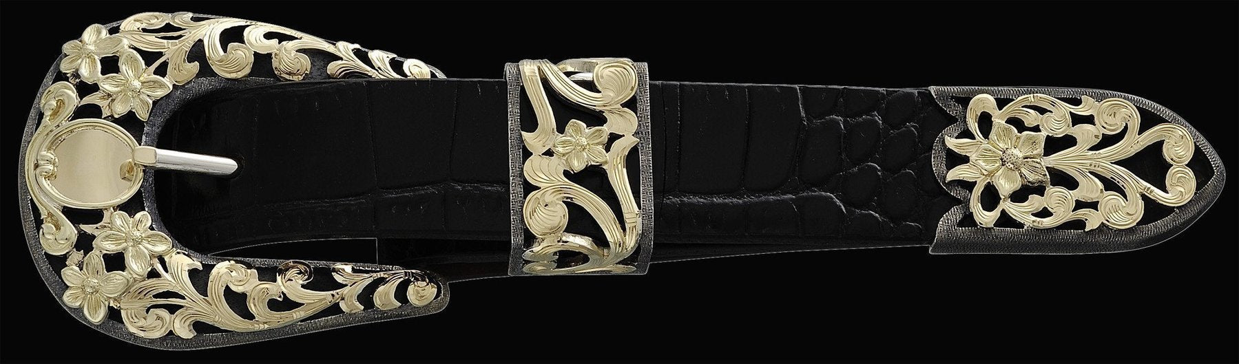 Chet Vogt Gold Fever buckle