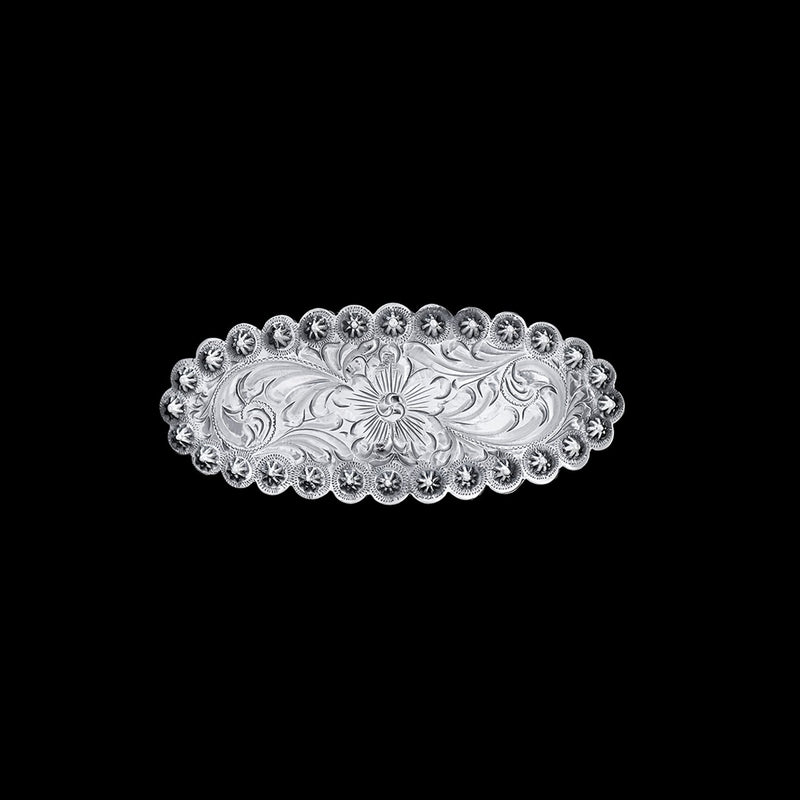 Vogt Silversmiths Barrettes NEW The Rosette Floral Barrette