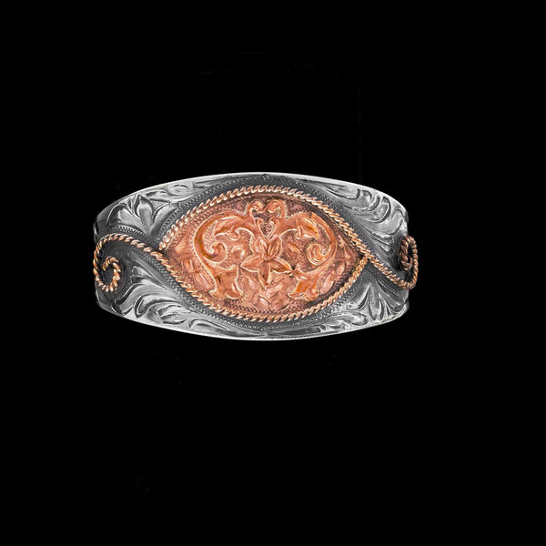 Vogt Silversmiths Bracelets The Red Canyon Bouquet Cuff