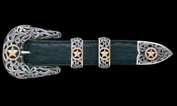 Vogt Silversmiths Chet Vogt Signature Series Buckles Default The Chet Vogt Filigree Ranger Buckle Set (Made to Order)