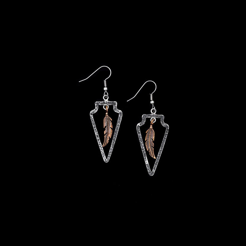 Vogt Silversmiths Earrings The Wildfire