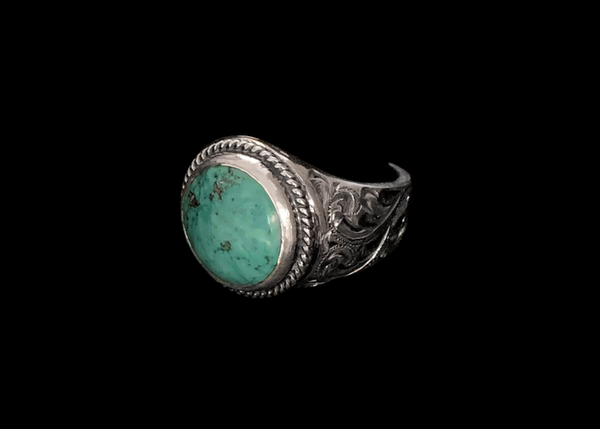 Vogt Silversmiths FINAL SALE SILVER The Gambler Men's Ring